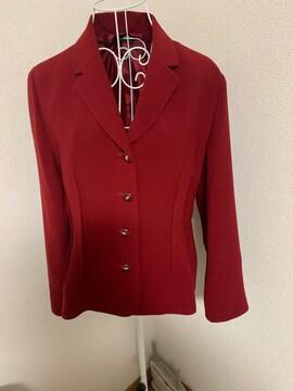 赤★ジャケット★細身シルエット★サイズL