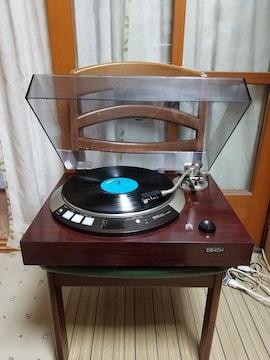フルレストア完動超美品針新品.!DENONレコードプレイヤーDP-55L