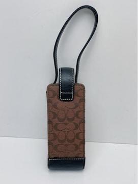 D543 極美品★ コーチ COACH 携帯電話ケース ペンケース