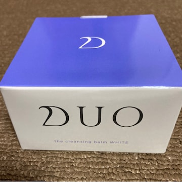 DUO クレンジングバーム ホワイト クリア★新品未開封 送料込み