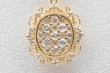 【鑑別】ゴージャス K18 合計 2.00ct ダイヤモンド ネックレス