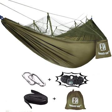 ハンモック 蚊帳付き 高品質 パラシュート 軽量幅広