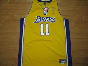 ナイキ NBA レイカーズ カールマローン タンクトップ XL