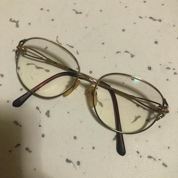 1スタ 良品☆Yevs Saint Laurent ゴールド眼鏡