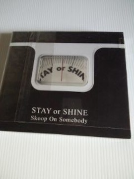 CD+DVDSTAY or SHINE Skoop On Somebodyアルバム送料込み