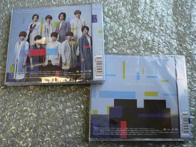 Hey!Say!JUMP/OVER THE TOP【初回盤1+2】CD+DVD/新品2枚set < タレントグッズの