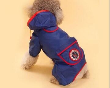 新品 小型犬用 レインコート Mサイズ