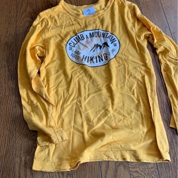 シンプル★黄色★ロンTサイズ140