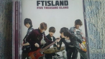 激安!激レア☆FTISLAND/FIVE TREASUREISLAND☆初回盤A/CD+DVD/美品