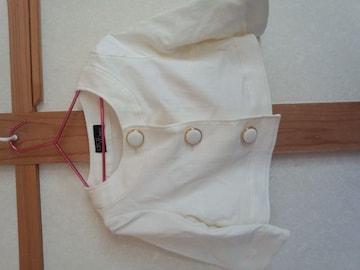 セシルマクビー ホワイトジャケ ショート