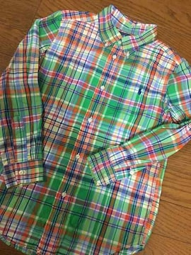 ★ラルフローレンシャツサイズ表記7 130くらいポロ★
