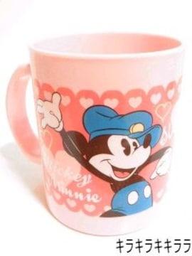 《New》ミッキーマウス&ミニーマウス★お子様でも安心して使える・プラマグコップ