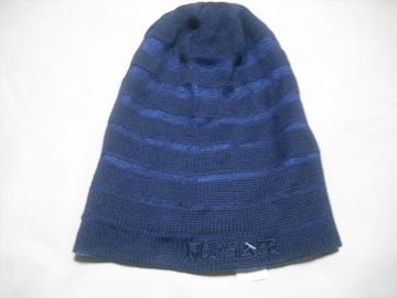 mb597 男 QUIKSILVER クイックシルバー リバーシブル ニット帽