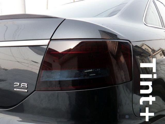 Tint+ 再利用できる アウディA6 C6 テールランプ スモークフィルム < 自動車/バイク