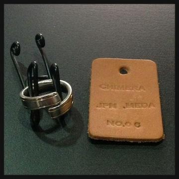 送料無料☆CHIMERAサージカルステンレスオリジナルリング☆指輪