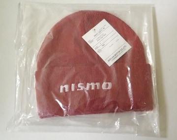 NISMO ニスモ ニット帽レッド KWA0550D10-RD 新品未使用