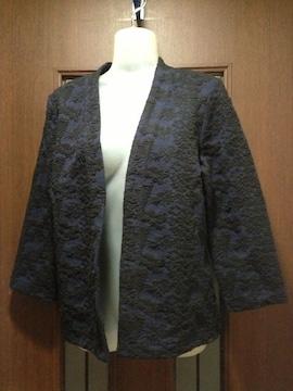 新品3490円L~LL(M)★H&M★ジャケット/ジャガードJ/ストレッチ