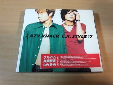 LAZY KNACK CD「L.K.STYLE 17」レイジー・ナック初回盤●
