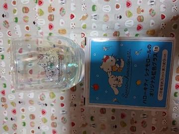 新品、シナモロール、ハローキティ、グラス、コップ、非売品1円
