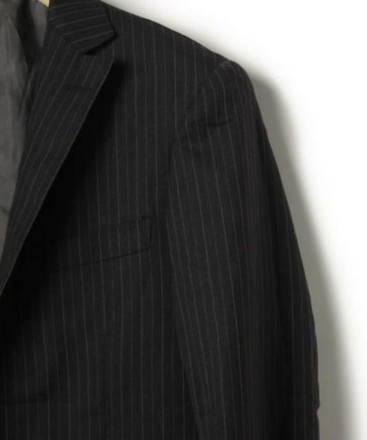 ユナイテッドアローズ 2B ウール ストライプ スーツ/メンズ/44 < ブランドの