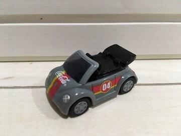 プルバックミニカー VW フォルクスワーゲン コカ・コーラ コカコーラ チョロQ ガンメタリックグレー