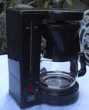 メリタ/JCM-522ドリップ式コーヒーメーカ中古完動品0104