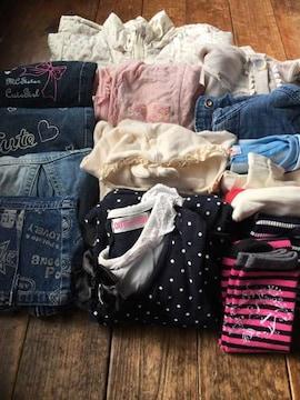 120〜140女の子 14品 アウター 新品有り