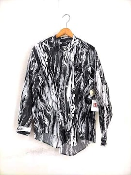 BOWWOW(バウワウ)THE MARBLE O FFSET SHIRTSシャツ