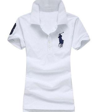 正規■POLO ポロ ラルフローレン レディース ポロシャツ M