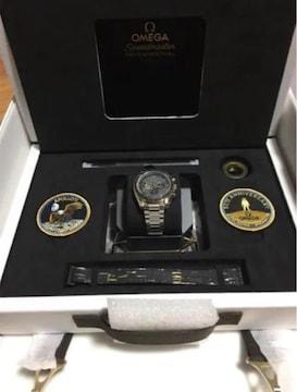 オメガ OMEGA アポロ11号 50周年記念 貴重 希少 資産価値