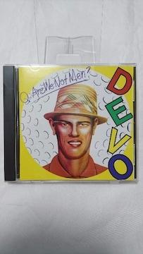 美品CD!! ディーヴォ / 頽廃的美学論 / 付属品全てあり