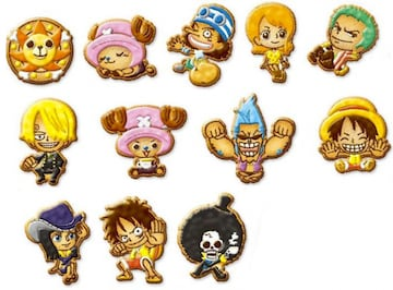 N『ワンピース』クッキーマスコット全12種 尾田栄一郎