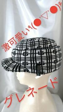 ★GRENADE:グレネード★超可愛い(^O^)/ニット帽★F★