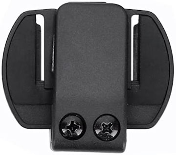 FODSPORTS インカム用ヘルメット取付クリップ V6 Pro用 1セット