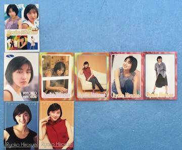 広末涼子 トレカ 8枚 セット パール カード トレカ 2枚入