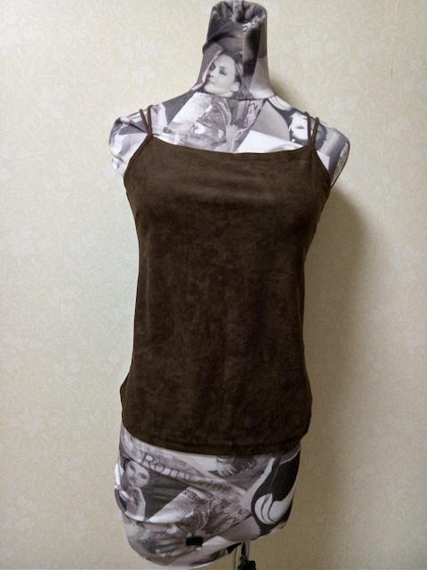 未着用 未使用新品 ストレッチキャミソール M 男性購入可  < 女性ファッションの