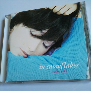 CD酒井法子in snowflakes☆送料無料
