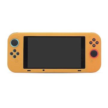 Nintendo Switch専用 シリコン ソフトケース オレンジ