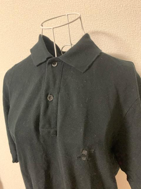 クレージュ☆黒シンプルポロシャツ★サイズL < ブランドの