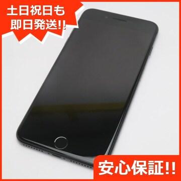 ●美品●SOFTBANK iPhone7 PLUS 256GB ジェットブラック●