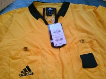 レフリーシャツ新品アディダス半袖シャツ2XO イエロー