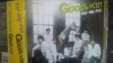 激安!超レア☆Kis-My-Ft2/Goodいくぜ!☆初回盤/CD+DVD/帯付!超美品