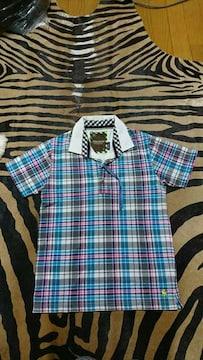 Men's チェック ポロシャツ