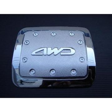 三菱 パジェロ クロームメッキガソリンタンクカバー V6#系V7#系