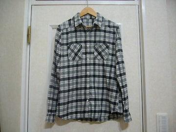 無印良品カジュアルチェック柄/長袖シャツ