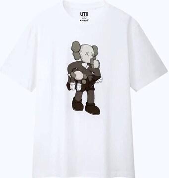 《 UNIQLO KAWS 》2019コラボ Tシャツ【サイズXL】新品タグ付