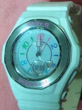 カシオBaby-Gショック電波ソーラー腕時計BGA-1020ホワイト定価24200円