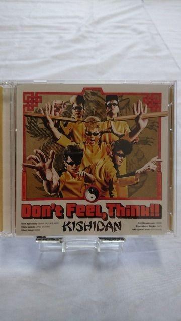 美品CD+DVD!! Don't Feel,Think!! /氣志團/帯等、付属品全有  < タレントグッズの