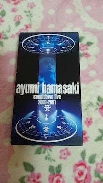 浜崎あゆみ☆ビデオ☆劇レアです2000〜2001カウントダウン☆