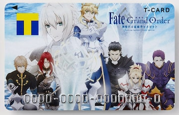 Tカード Fate/Grand Order 神聖円卓領域キャメロット 円卓の騎士